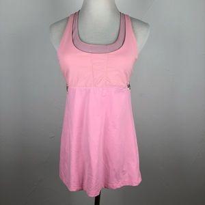 Lululemon Pink Floral Top Size 10